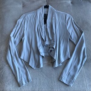 GUESS Draped Cardigan Size Small